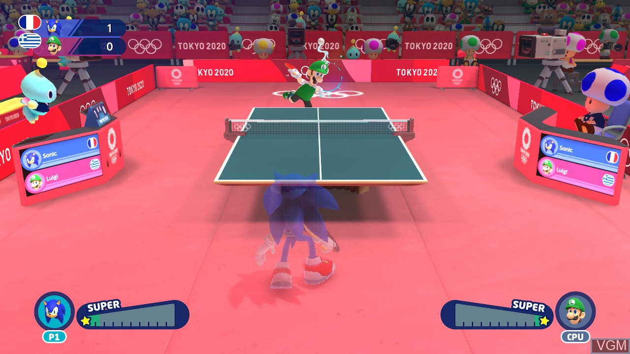 Image in-game du jeu Mario & Sonic at the Olympic Games - Tokyo 2020 sur Switch