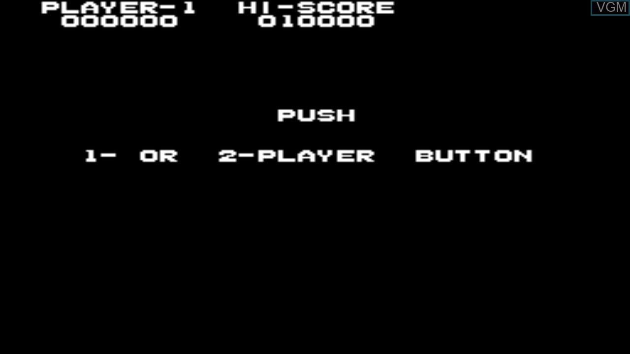 Image du menu du jeu Elevator Action sur Taito Type X