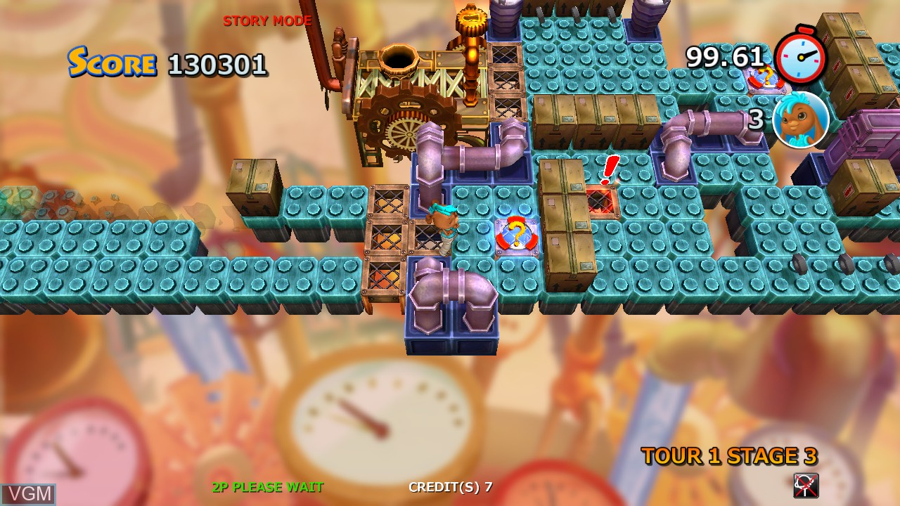 Image in-game du jeu Do Not Fall - Run for Your Drink sur Taito Type X