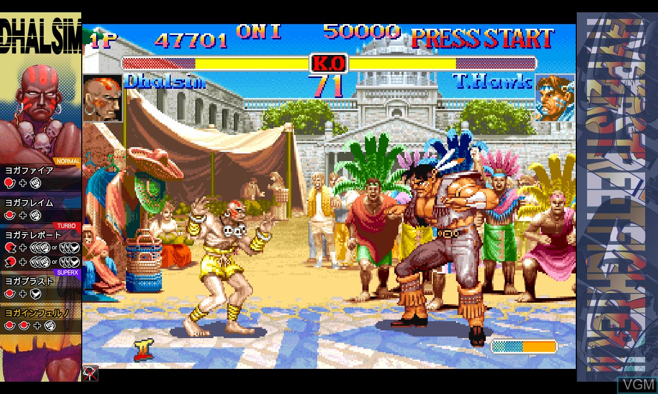 Image in-game du jeu Hyper Street Fighter II - The Anniversary Edition sur Taito Type X