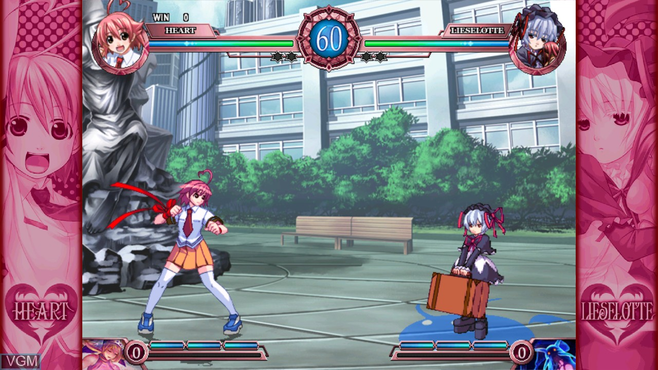 Image in-game du jeu Arcana Heart 2 sur Taito Type X