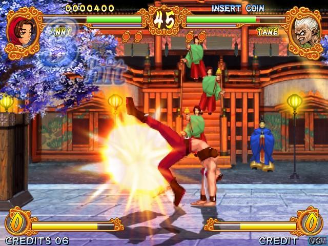 Image in-game du jeu Gouketsuji Ichizoku Matsuri Senzo Kuyou sur Taito Type X