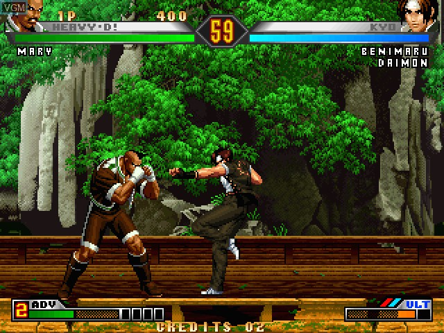 Image in-game du jeu King of Fighters 98, The - Ultimate Match sur Taito Type X