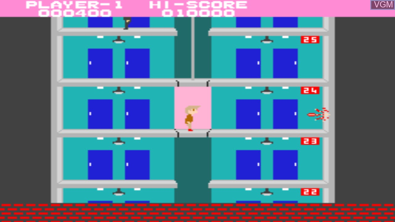 Image in-game du jeu Elevator Action sur Taito Type X