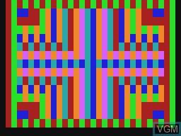 Image in-game du jeu Kaleido sur Tandy MC10