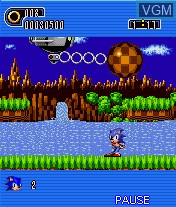 Image in-game du jeu Sonic the Hedgehog Part 1 sur Telephone Portable