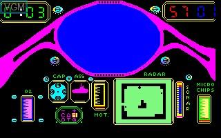 Image in-game du jeu 3D Sub sur Thomson MO5