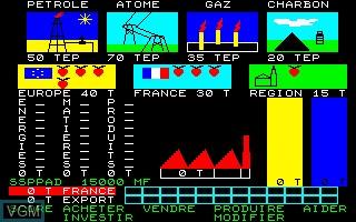 Image in-game du jeu Affaire en Or, Une sur Thomson MO5