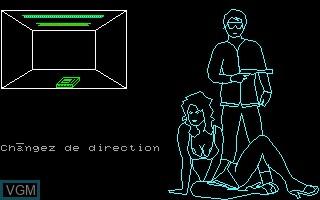 Image in-game du jeu Mission pas Possible sur Thomson MO5