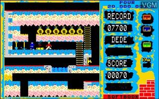 Image in-game du jeu Pour Vingt Millions de Dollars sur Thomson MO5