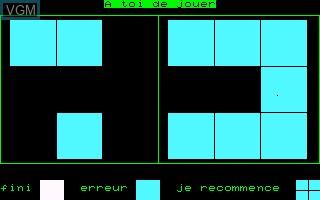 Image in-game du jeu Prologic sur Thomson MO5