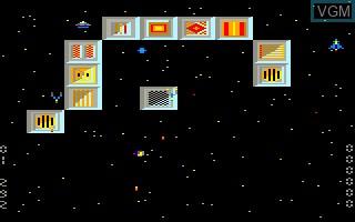 Image in-game du jeu Blue Star sur Thomson MO6