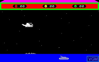 Image in-game du jeu Choplifter sur Thomson TO7