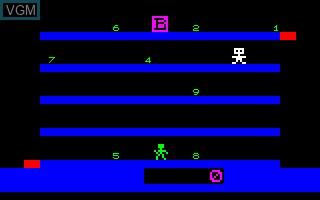 Image in-game du jeu Banque sur Thomson TO7
