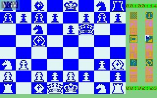 Image in-game du jeu Cyrus Echecs sur Thomson TO8