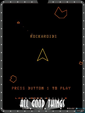 Image du menu du jeu All Good Things by John Dondzila sur MB Vectrex
