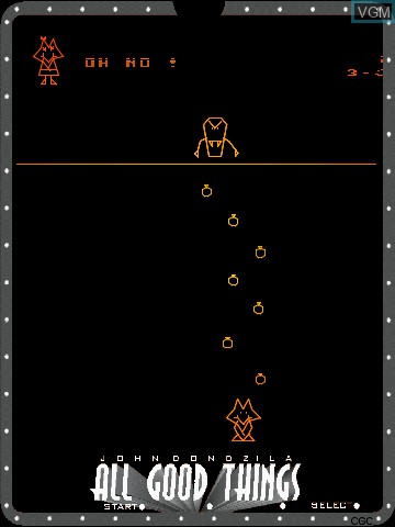 Image in-game du jeu All Good Things by John Dondzila sur MB Vectrex