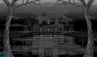 Image du menu du jeu Insmouse no Yakata sur Nintendo Virtual Boy