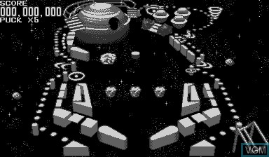 Image in-game du jeu Galactic Pinball sur Nintendo Virtual Boy