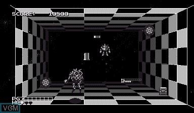 Image in-game du jeu Space Squash sur Nintendo Virtual Boy