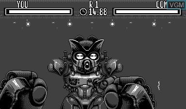 Image in-game du jeu Teleroboxer sur Nintendo Virtual Boy
