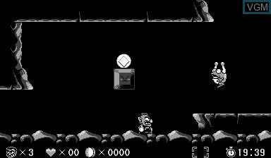 Image in-game du jeu Virtual Boy Wario Land sur Nintendo Virtual Boy