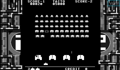 Image in-game du jeu Space Invaders Virtual Collection sur Nintendo Virtual Boy