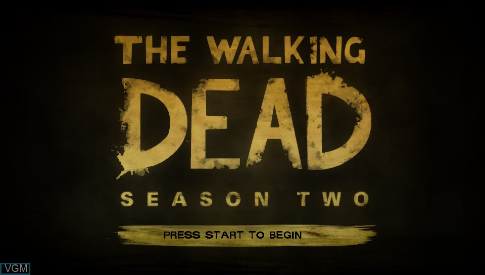 Image de l'ecran titre du jeu Walking Dead, The - Season Two - A Telltale sur Sony PS Vita
