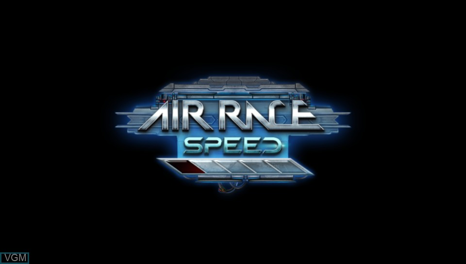 Image de l'ecran titre du jeu Air Race Speed sur Sony PS Vita