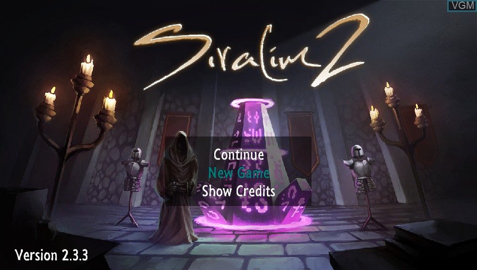 Image de l'ecran titre du jeu Siralim 2 sur Sony PS Vita