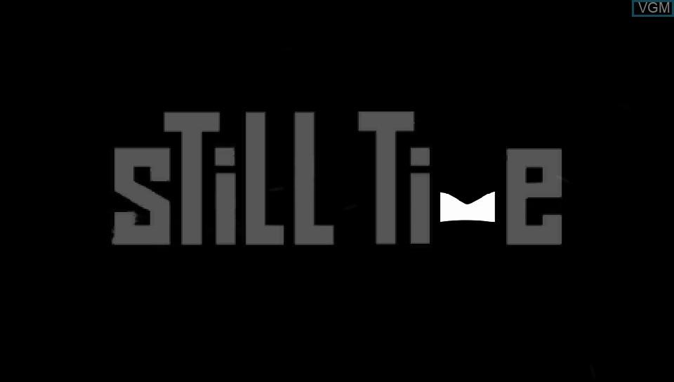 Image de l'ecran titre du jeu Still Time sur Sony PS Vita