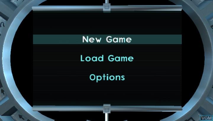 Image du menu du jeu Jak II HD sur Sony PS Vita