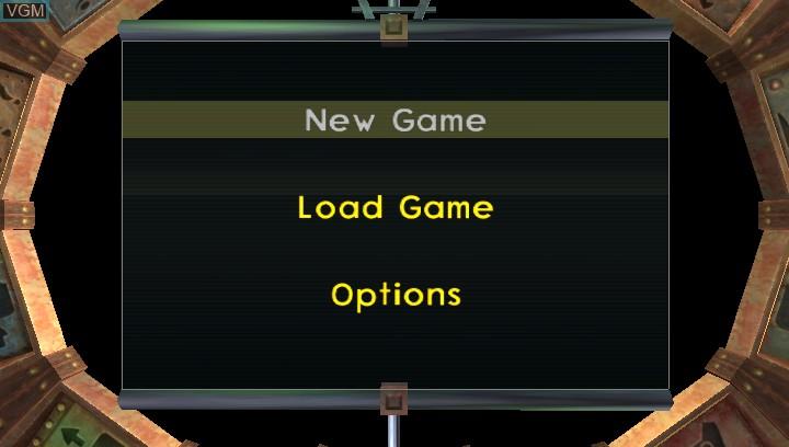 Image du menu du jeu Jak 3 HD sur Sony PS Vita