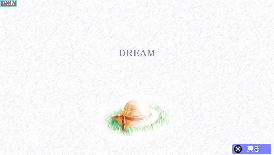 Image du menu du jeu Air sur Sony PS Vita