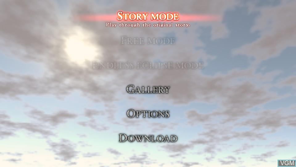 Image du menu du jeu Berserk and the Band of the Hawk sur Sony PS Vita