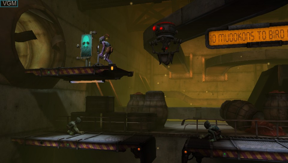 Image in-game du jeu Oddworld - Abe's Oddysee - New 'n' Tasty sur Sony PS Vita