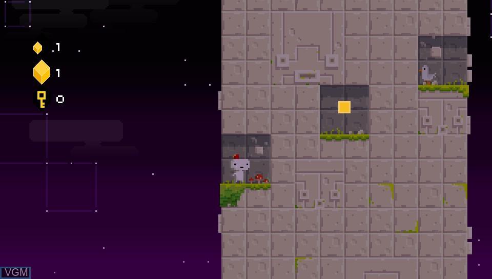 Image in-game du jeu Fez sur Sony PS Vita