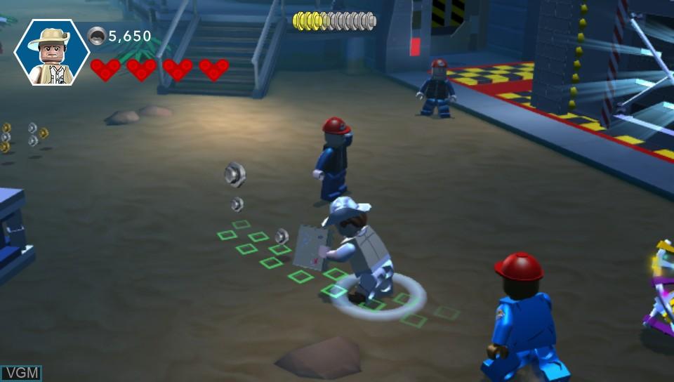 Image in-game du jeu LEGO Jurassic World sur Sony PS Vita