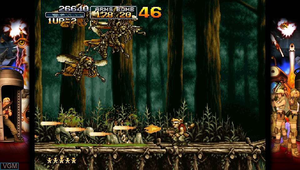 Image in-game du jeu Metal Slug 3 sur Sony PS Vita