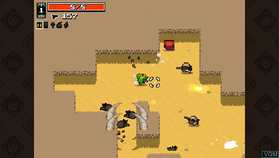Image in-game du jeu Nuclear Throne sur Sony PS Vita
