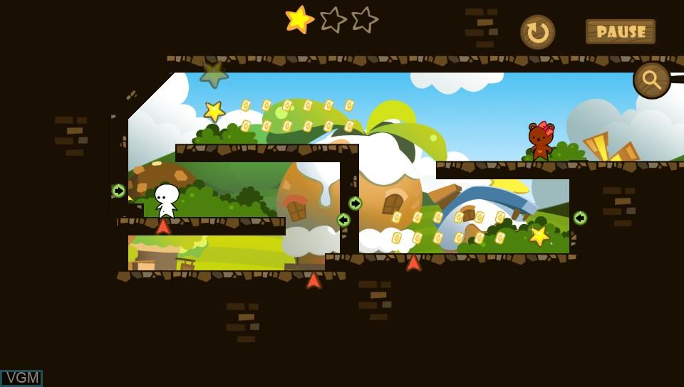 Image in-game du jeu One Tap Hero sur Sony PS Vita