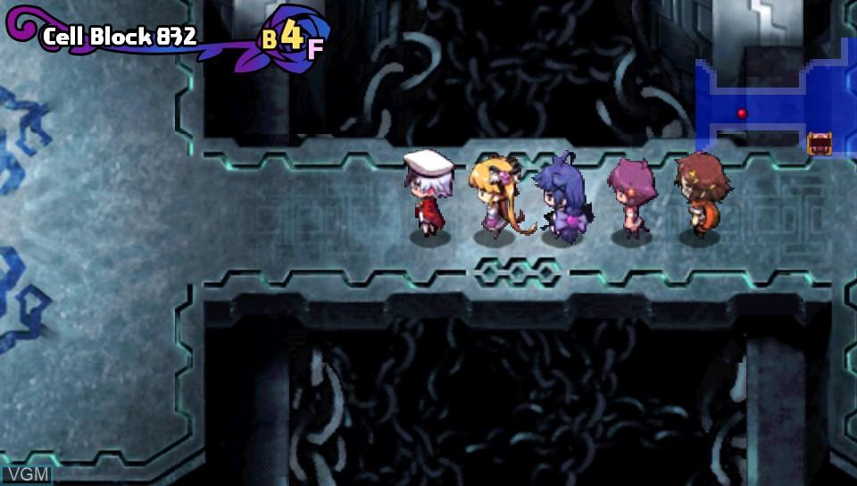 Image in-game du jeu Criminal Girls - Invite Only sur Sony PS Vita