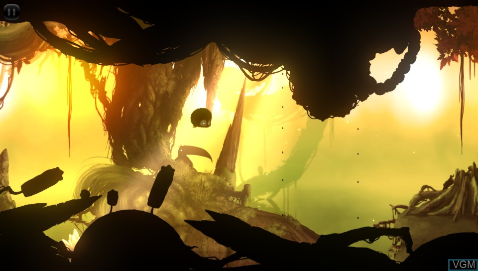 Image in-game du jeu BADLAND sur Sony PS Vita