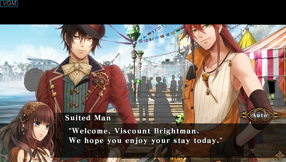 Image in-game du jeu Code - Realize - Guardian of Rebirth sur Sony PS Vita
