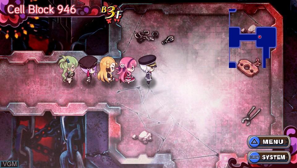 Image in-game du jeu Criminal Girls 2 - Party Favors sur Sony PS Vita