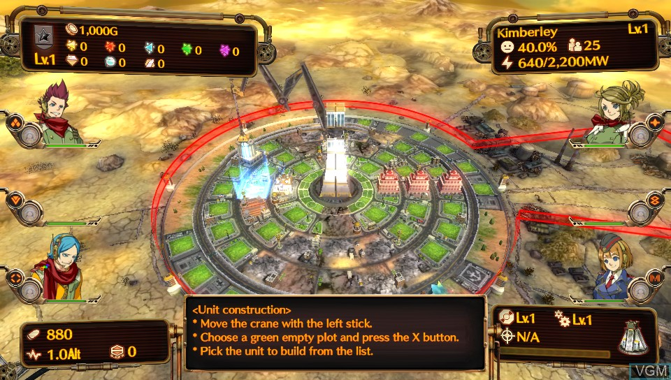 Image in-game du jeu Aegis of Earth - Protonovus Assault sur Sony PS Vita