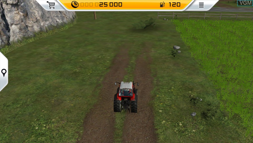 Image in-game du jeu Farming Simulator 14 sur Sony PS Vita