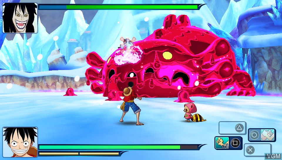 Image in-game du jeu One Piece - Unlimited World Red sur Sony PS Vita