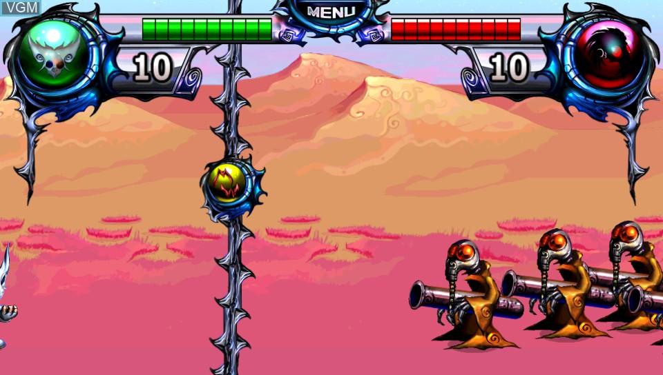 Image in-game du jeu Desert Ashes sur Sony PS Vita