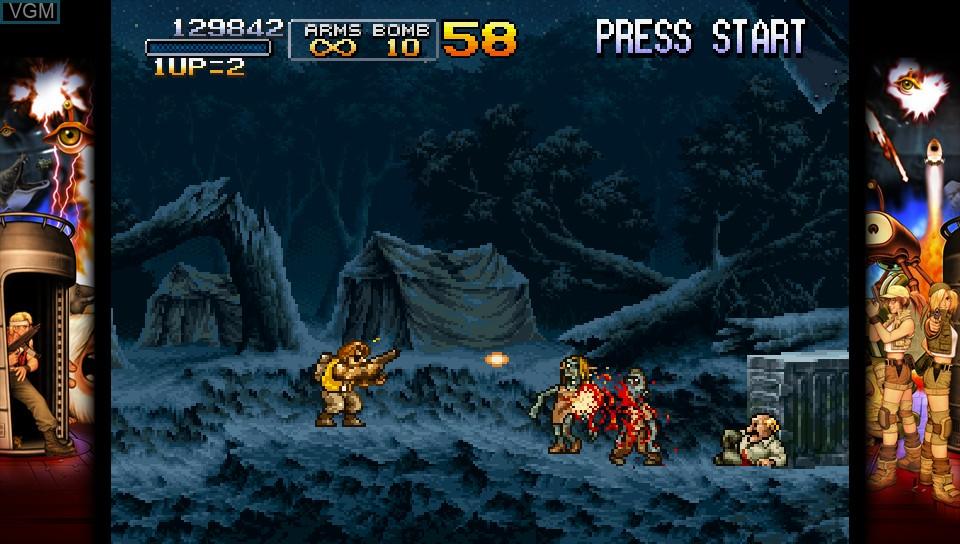Image in-game du jeu Metal Slug 3 sur Sony PS Vita